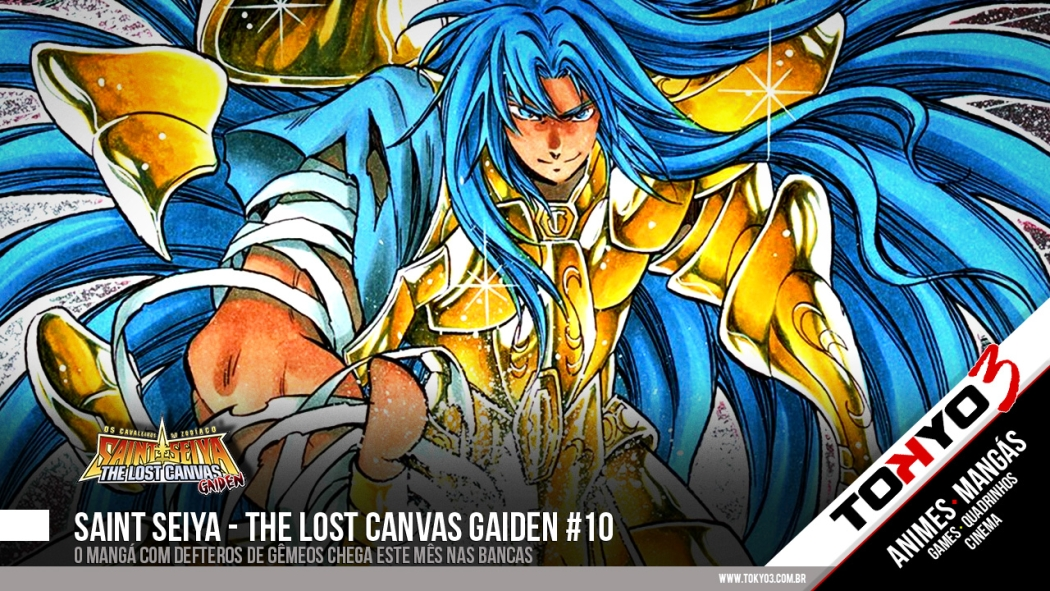 Saint Seiya - The Lost Canvas Gaiden #11 disponível