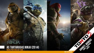 As Tartarugas Ninja (2014) - Confira novos pôsteres do filme