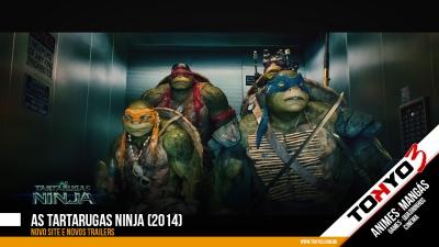 As Tartarugas Ninja (2014) - Novos trailers e novo site no Brasil