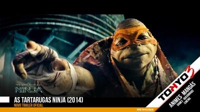 As Tartarugas Ninja (2014) - Segundo trailer oficial