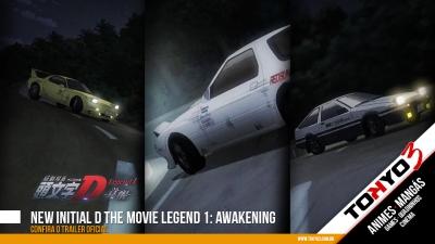 Confira o trailer oficial New Initial D the Movie Legend 1: Awakening