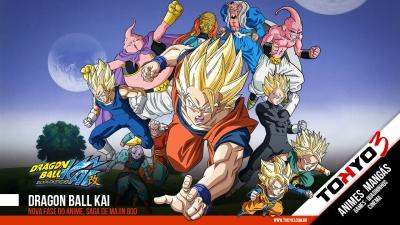 Dragon Ball Kai estreiou hoje a nova fase de Majin Boo na Fuji TV