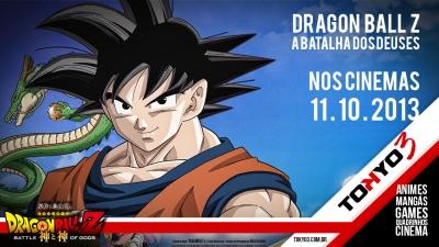 Dragon Ball Z - A Batalha dos Deuses estréia dia 11 de Outubro no Brasil