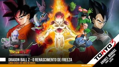 Dragon Ball Z - O Renascimento de Freeza chega em Junho ao Brasil