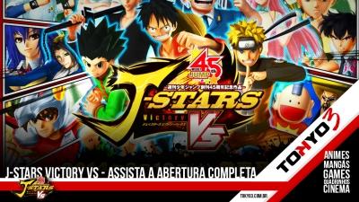 J-Stars Victory VS: Assista agora à abertura completa do jogo em HD