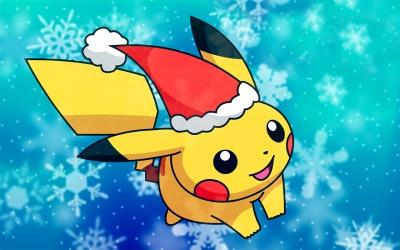 Linha de presentes de Natal 2012 de Pokémon