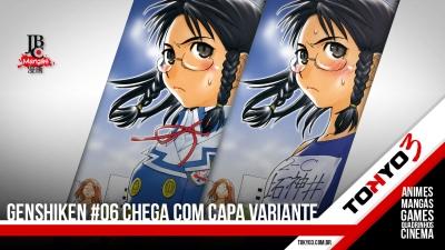 Mangás JBC: Genshiken #06 chega com capa variante