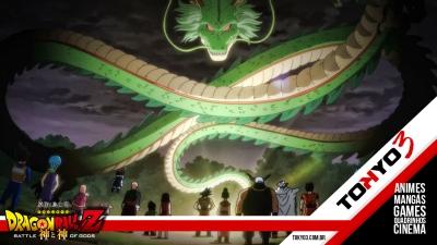 Novo comercial de TV sobre Dragon Ball Z: Battle of Gods