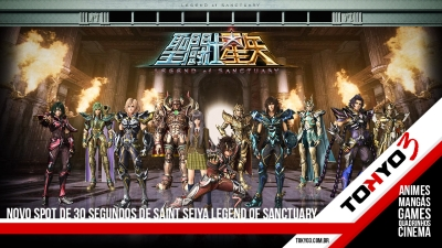 Novo spot de 30 segundos de Saint Seiya Legend of Sanctuary
