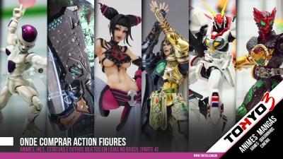 Onde comprar Action Figures - Animes, HQ's, Estátuas e outros objetos em lojas no Brasil [parte 4]