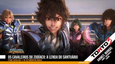 Os Cavaleiros do Zodíaco: A Lenda do Santuário chega dia 11 de Setembro no Brasil
