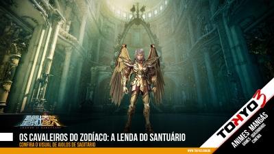 Os Cavaleiros do Zodíaco: A Lenda do Santuário, confira o visual de Aiolos de Sagitário