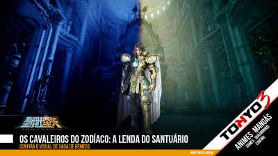 Os Cavaleiros do Zodíaco: A Lenda do Santuário, confira o visual de Saga de Gêmeos