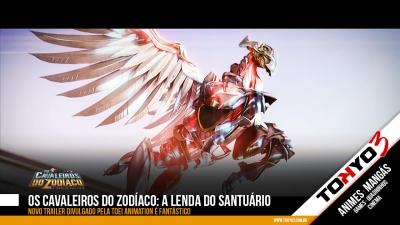 Os Cavaleiros do Zodíaco: A Lenda do Santuário - Novo Trailer divulgado pela Toei Animation é fantástico