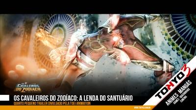 Os Cavaleiros do Zodíaco: A Lenda do Santuário - Quarto pequeno trailer é divulgado pela Toei Animation