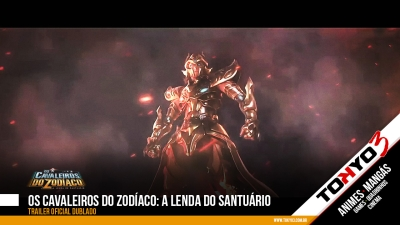 Os Cavaleiros do Zodíaco: A Lenda do Santuário - Trailer oficial dublado