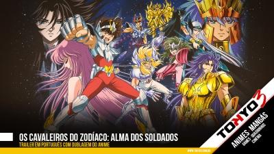 Os Cavaleiros do Zodíaco: Alma dos Soldados ganha trailer em português