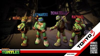Primeiras impressões de As Tartarugas Ninja a Nova Série