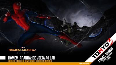 Primeiro trailer de Homem-Aranha: De Volta ao Lar
