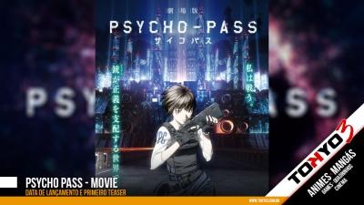 Psycho-Pass Movie - Data de lançamento e teaser divulgados