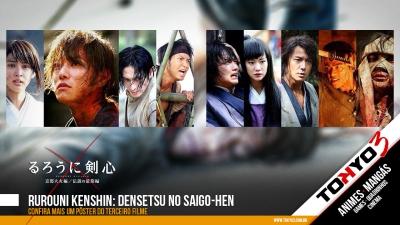 Rurouni Kenshin: Densetsu no Saigo-hen - Mais um pôster do terceiro live action da série