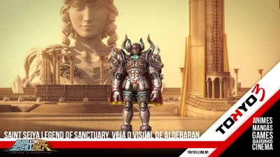 Saint Seiya Legend of Sanctuary, confira o visual de Aldebaran