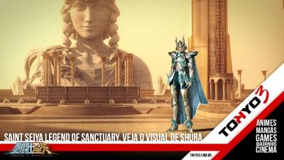 Saint Seiya Legend of Sanctuary, confira o visual de Shura de Capricórnio