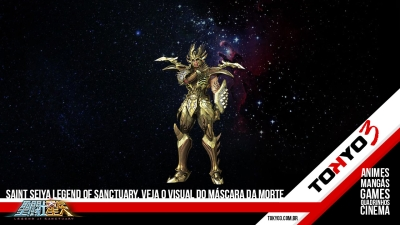 Saint Seiya Legend of Sanctuary, confira o visual do Máscara da Morte de Câncer