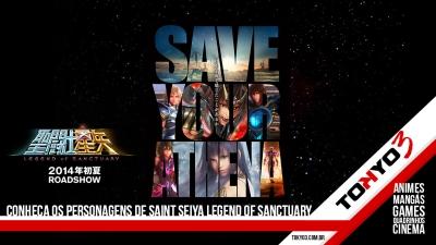 Saint Seiya Legend of Sanctuary, conheça os personagens e a história do filme em CGI