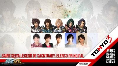 Saint Seiya Legend of Sanctuary, definido elenco de dublagem dos cavaleiros de bronze