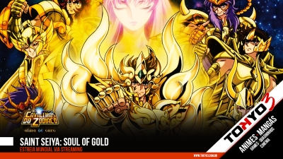 Saint Seiya: Soul of Gold (Alma de Ouro) tem estreia mundial via streaming