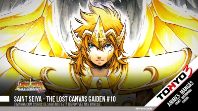 Saint Seiya - The Lost Canvas Gaiden #10 disponível