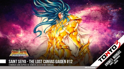 Saint Seiya - The Lost Canvas Gaiden #12 disponível
