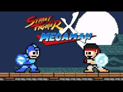 Street Fighter vs. Mega Man - Game comemora 25 anos de ambas franquias
