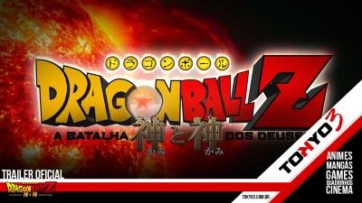 Trailer oficial de Dragon Ball Z - A Batalha dos Deuses