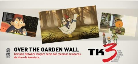 Over the Garden Wall - Cartoon Network lançará série dos mesmos criadores de Hora de Aventura.