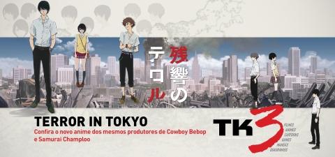 Terror in Tokyo - Confira o novo anime dos criadores de Cowboy Bebop e Samurai Champloo.