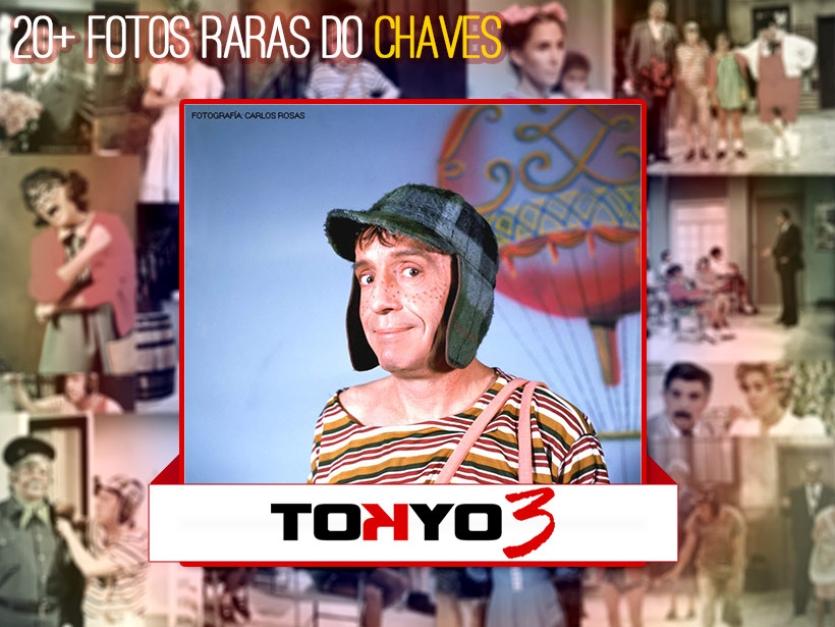 Mais de 20 fotos raras da Turma do Chaves