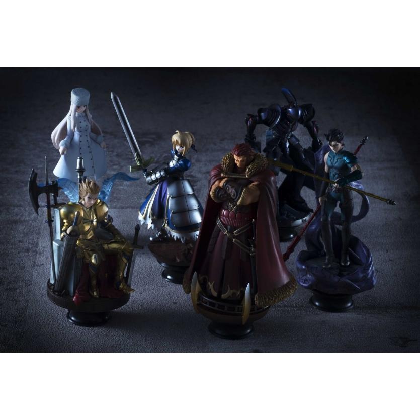 Megahouse anuncia peças de xadrez de Fate/ZERO