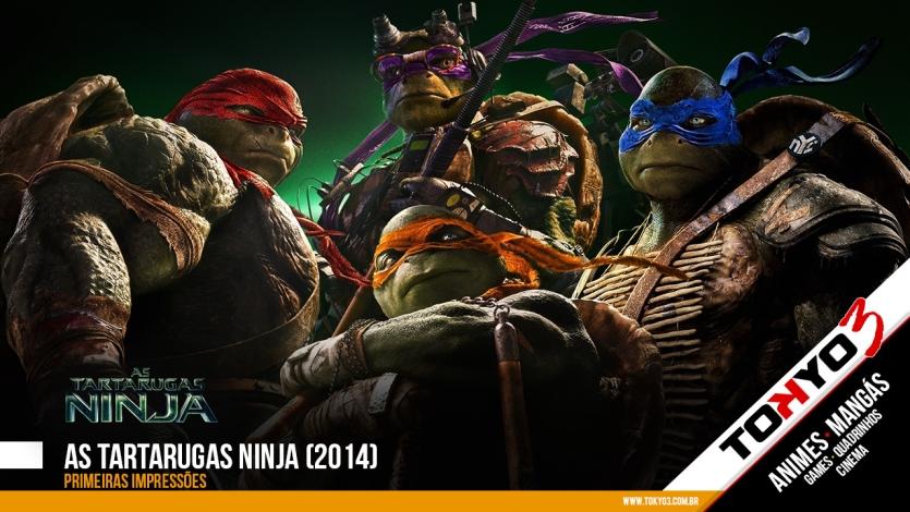 Primeiras impressões de As Tartarugas Ninja (2014)