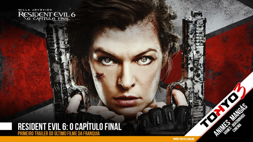 Resident Evil 6: O capítulo final ganha primeiro trailer