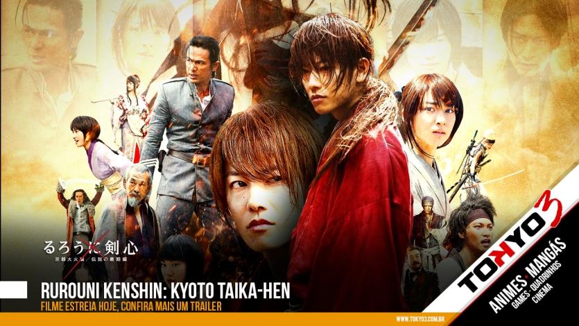 Rurouni Kenshin: Kyoto Taika-hen - Filme estreia hoje, confira mais um trailer