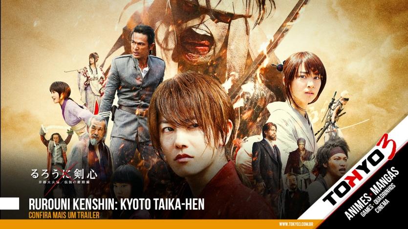 Rurouni Kenshin: Kyoto Taika-hen - Veja mais um trailer do filme