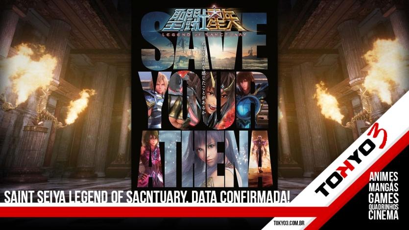 Saint Seiya Legend of Sanctuary, confirmado a data de lançamento