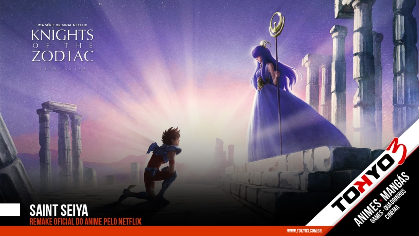 Saint Seiya terá remake oficial pelo Netflix