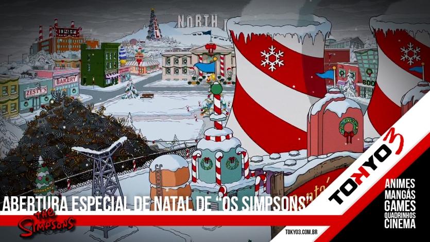 """Veja a abertura """"Especial de Natal"""" de Os Simpsons"""