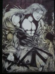 Samurai feito por Fábio de Oliveira Santos