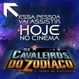 Os Cavaleiros do Zodíaco: A Lenda do Santuário - Modelo de avatar ou postagem para Facebook