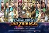 Os Cavaleiros do Zodíaco: A Lenda do Santuário - Banner Promocional - Cavaleiros de Ouro