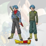 Design de personagem - Mirai Trunks